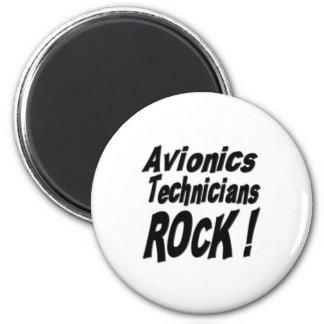 Avionics Technicians Rock! Magnet
