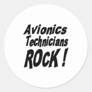 Avionics Technicians Rock! Sticker