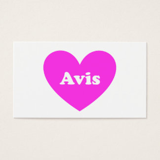 Avis Business Card