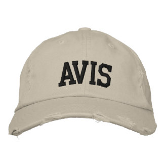 Avis Embroidered Hat