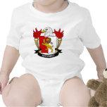 Avis Family Crest Baby Creeper