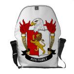 Avis Family Crest Courier Bag