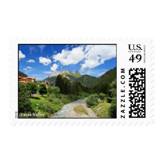 Avisio stream, val di Fassa, Italy Postage Stamp