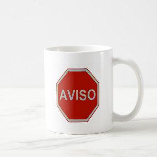 AVISO COFFEE MUG