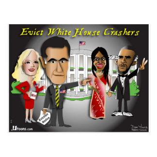 Aviso del desahucio de Romney Postal