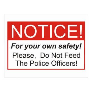 Aviso/oficial de policía postal