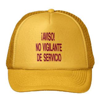 aviso trucker hat