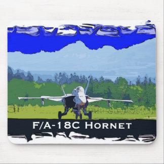 Avispón de F/A-18C Alfombrillas De Ratón