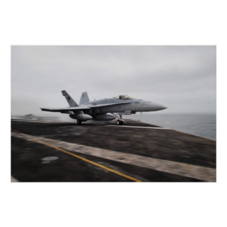 Avispón de F/A-18C de USS Dwight D. Eisenhower Posters