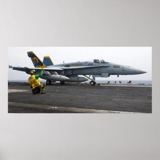 Avispón de F/A-18C en USS Juan C. Stennis (CVN 74) Impresiones