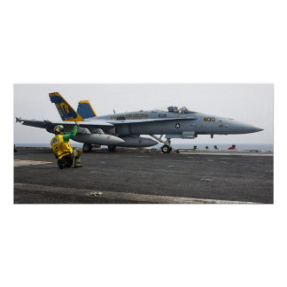 Avispón de F A-18C en USS Juan C Stennis CVN 74 Impresiones
