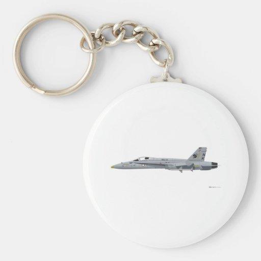Avispón de McDonnell Douglas FA-18 Llaveros