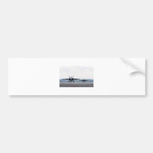 Avispón estupendo F-18 Etiqueta De Parachoque