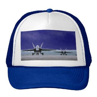 Avispón estupendo F-18 Gorras De Camionero