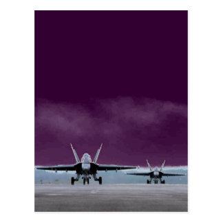Avispón estupendo F-18 Tarjeta Postal