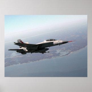Avispón estupendo F/A-18 Póster