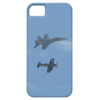 Avispón F-18 y corsario de F4U iPhone 5 Carcasa