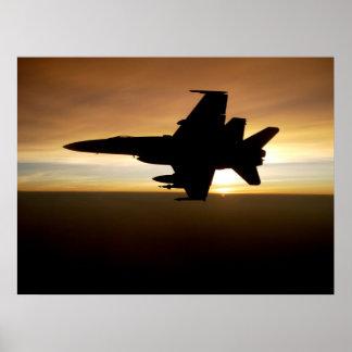 Avispón F/A-18 Posters