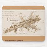 Avispón Mousepad del F/A-18 de da Vinci Alfombrillas De Raton