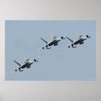 Avispones de F/A-18C Póster