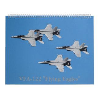 "Avispones estupendos F/A-18 de VFA-122 ""Eagles que Calendarios"