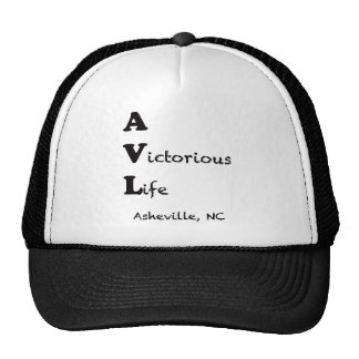 AVL A Victorious Life Asheville, North Carolina B Trucker Hat