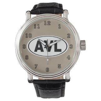 AVL Asheville North Carolina Wrist Watch