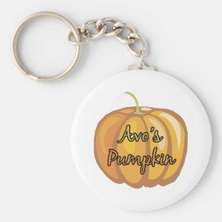 Avo's Pumpkin Key Chains