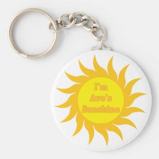 Avo's Sunshine Keychain