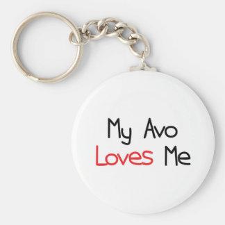 Avo Loves Me Key Chains