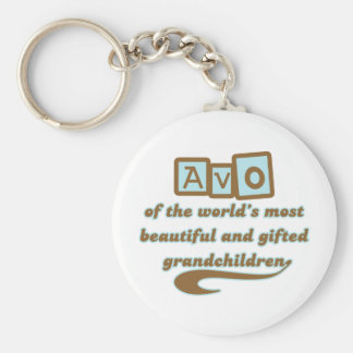 Avo of Gifted Grandchildren Key Chain