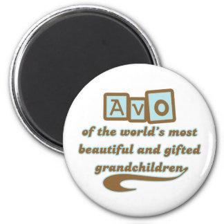 Avo of Gifted Grandchildren Refrigerator Magnet