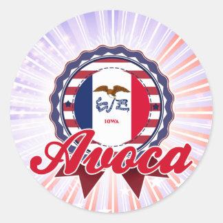 Avoca, IA Sticker