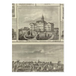 Avoca Penn College, Oskaloosa buildings in Dexter Post Cards