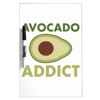 Avocado Addict Dry-Erase Board