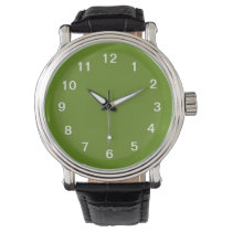 Avocado and Asparagus Wristwatch