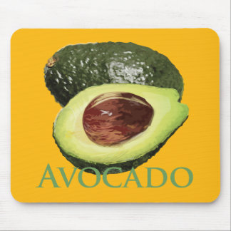 Avocado and Half Mouse Pad