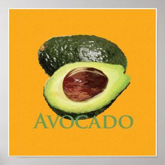 Avocado and Half Poster