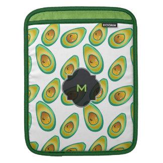 Avocado Avocado decorative pattern Sleeve For iPads