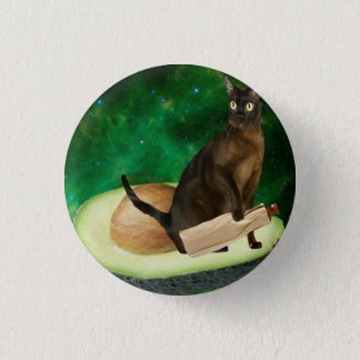 avocado cat button