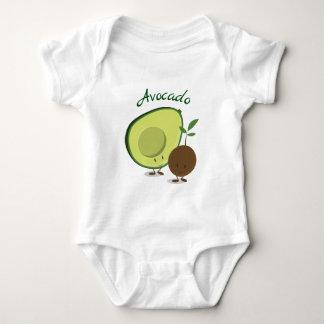 Avocado characters | Baby Bodysuit