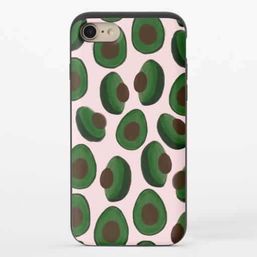 Avocado Explosion iPhone 8/7 Slider Case