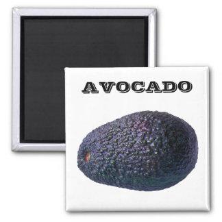 Avocado - (Fridge Magnet Square)