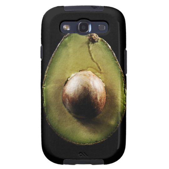 Avocado,Fruit,Black background Galaxy SIII Case