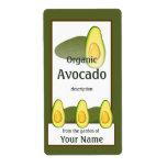 Avocado Gardener Label Shipping Label