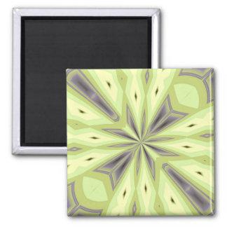 Avocado Groove Kaleidoscope Magnet