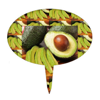 AVOCADO healthy foods ingredient sauces chutney Cake Topper
