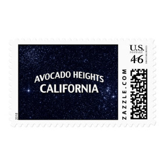 Avocado Heights California Stamps