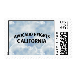 Avocado Heights California Postage Stamp