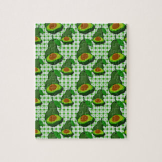 Avocado in  Paradise Jigsaw Puzzle